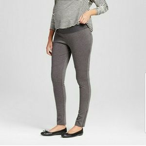 Liz Lange Maternity Moto Leggings Pants- Large